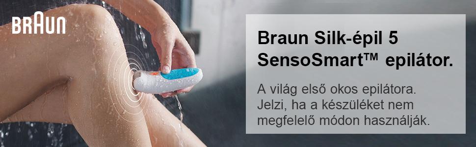 Braun Silk-épil SensoSmart 5 5-880 Epilátor 82832fc8e8